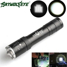 Super Powerful 2500 Lumens Zoomable CREE Q5 LED 18650 Flashlight Torch Lamp
