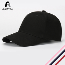 Solid Cotton Baseball Cap For Ladies Men Fitness Snapback Unisex Dad Hat Caps Multiple Color Options Black Grey Pink Type GY02(China)