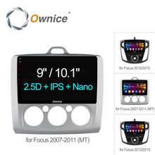 Ownice C500+ Octa 8 Core Android 6.0 Car Radio 2Din DVD player GPS Navi 2G+32G For Ford Focus 2007 - 2012 2015 Support 4G SIM(China)