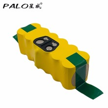 PALO Rechargeable Sweeper Battery For irobot 500/600/700 Series Robot Fitting 14.4V 3500Mah For Cleaner Replacement Battery(China)