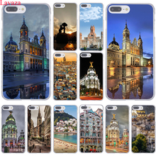 Madrid Capital of Spain Capa Palace Hotel Hard Case Transparent Cover for iPhone 7 7 Plus 6 6S Plus 5 5S SE 5C 4 4S