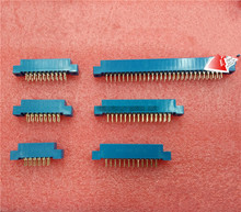 1PCS 805 Series 3.96mm Pitch Card Edge Connector Blue for PCB Board