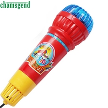 CHAMSGEND Echo Microphone Mic Voice Changer Toy Gift Birthday Present Kids Party Song S30