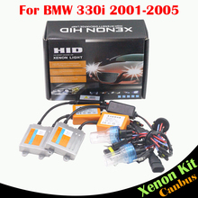 Cawanerl 55W H7 Car Light Ballast Bulb No Error HID Xenon Kit AC 3000K-8000K Auto Headlight Low Beam For BMW 330i 2001-2005