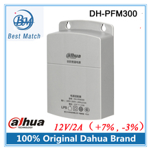 3pcs/lot Dahua Waterproof Outdoor CCTV Power Supply DC 12V/2A Power Adapter DH-PFM300 Power Switch for cctv camera