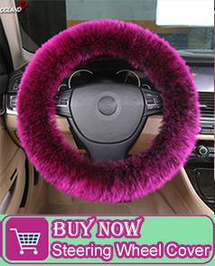 Aangepaste Styling Pluizige Wol Gordel Cover Schouder Pad Voor Auto Accessoires Interieur Australische Merinowol Bont Kussen