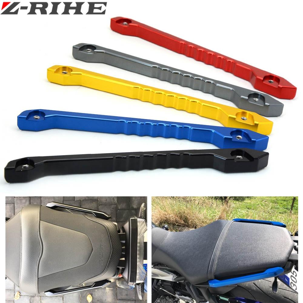 CNC Rear Passenger Seat Hand Handle Grab Bar Rail For Yamaha MT09 MT-09 FZ-09 FZ MT 09 2014 2015 2016 Motorcycle Accessories<br>