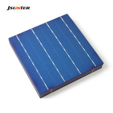 JSLINTER 50 Pcs 156 Polycrystalline Silicon Solar Cell 6 x 6 Poly Solar Cells 4.4 W for DIY 200 W Solar Panels Battery Charger
