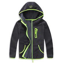 2017 brand children jackets spring and autumn trendy boys sport hooded kids outerwear fall kids polar fleece soft shell clothing