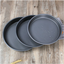 "8""9""10""Round Shape Non_Stick Pizza Pans Carbon Steel Baking Roasting Mold Pans"