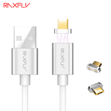 RAXFLY Magnetic Charging Cable Mirco USB Cable for Android Cellphone Devices Cable for Samsung J1 J5 J7 A1 A5 A7 For Huawei P8 7