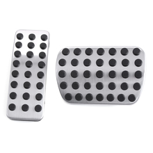Stainless steel Car Pedal Pads Cover For Mercedes Benz A B CLA GLA GLE ML GL R W164 W166 X156 X164 X166 W251 W168 W169 W176 W245(China)