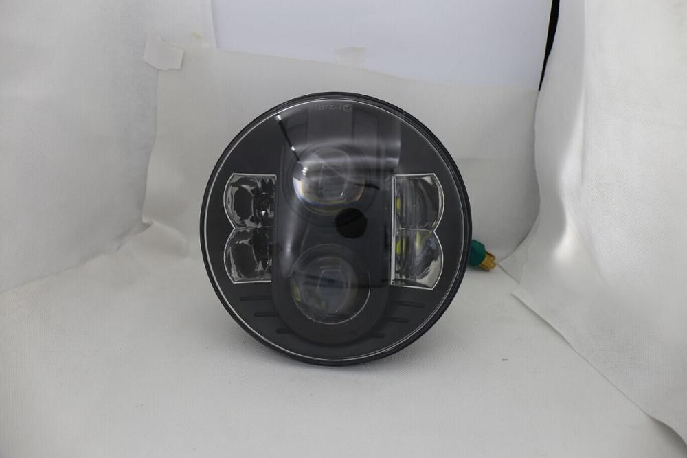 CZG-748 7 led headlight for Harley Davidson motorcycles 7 inch round 30w/48w led headlamp with hi/lo beam DRL for Jeep wrangler<br><br>Aliexpress