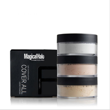 2017 Magical Halo Make Up Primer Loose Powder with Puff Setting Powder Poudre Libre Oil-control Finishing Powder Matte Banana Po
