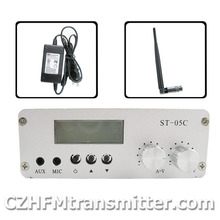 0.5W home FM transmitter stereo pll radio broadcast  76-108mhz antenna+ps kit