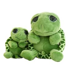 Cute turtle 20cm/25cm/40cm green tortoise Plush Toy Stuffed Animal Doll Kids Toy Big Eye Doll Graduation Birthday Gift Hot Sale