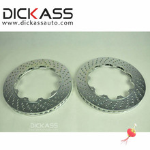 DICKASS 355*32mm Car Brake Disc XS Drilled and Partial Groove Pattern for Volkswagen Toyota Replacement Brake Parts Accessories(China)