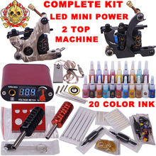 tattoo guns starter kit permanent makeup machine kit tattoo professional tattoo equipment sterilizer