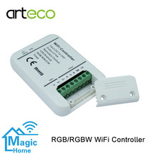 DC12-24V 4A*5CH WIFI LED Controller RGB RGBW Dimmer IOS Android Timer Music control RGB controller for LED strip