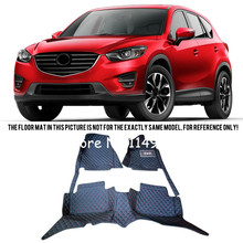 Buy Mazda CX-5 CX 5 2013 14 15 2016 Interior Leather Custom Car Styling Waterproof Auto Floor Waterproof Mats & Carpets Pads for $57.60 in AliExpress store