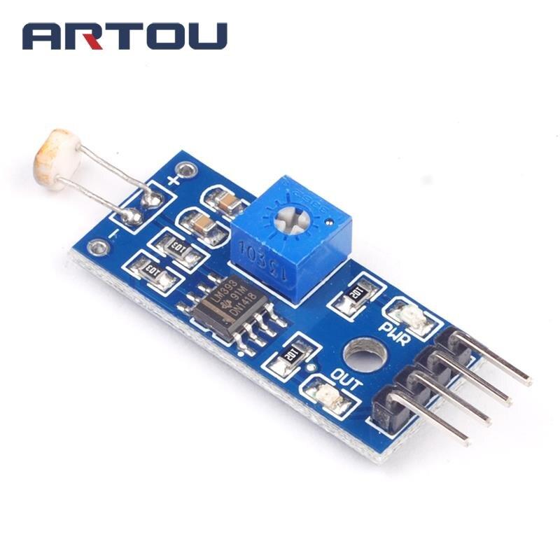 1pcs Photowiderstand Lichtsensor Lichtsensor Modul für Arduino