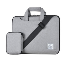 KALIDI 10 11 12 13 14 15 Inch Laptop Shoulder Bag Handbag Protective Case Pouch Cover with Storage Bag for Macbook Pro Air Reina
