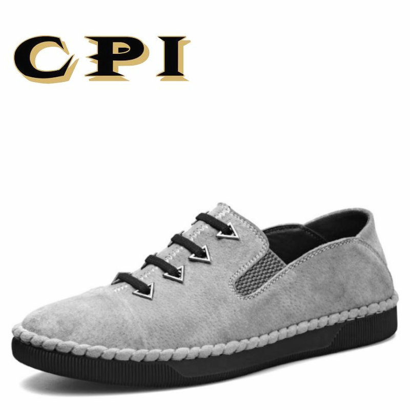 CPI Mens casual leather shoes sneakers British Style Fashion design Mens Breathable Comfortable Walking shoes AA-41        <br>