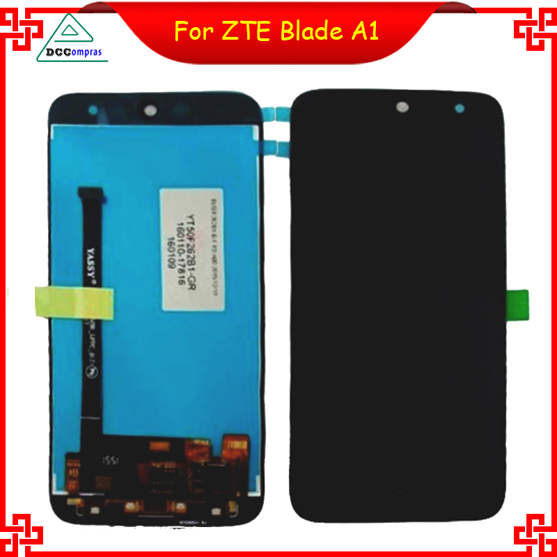 Original Quality For ZTE Blade A1 C880U C880 C880d c880s LCD Display+Touch Screen Perfect Repair Parts Free Shipping+Tools<br><br>Aliexpress