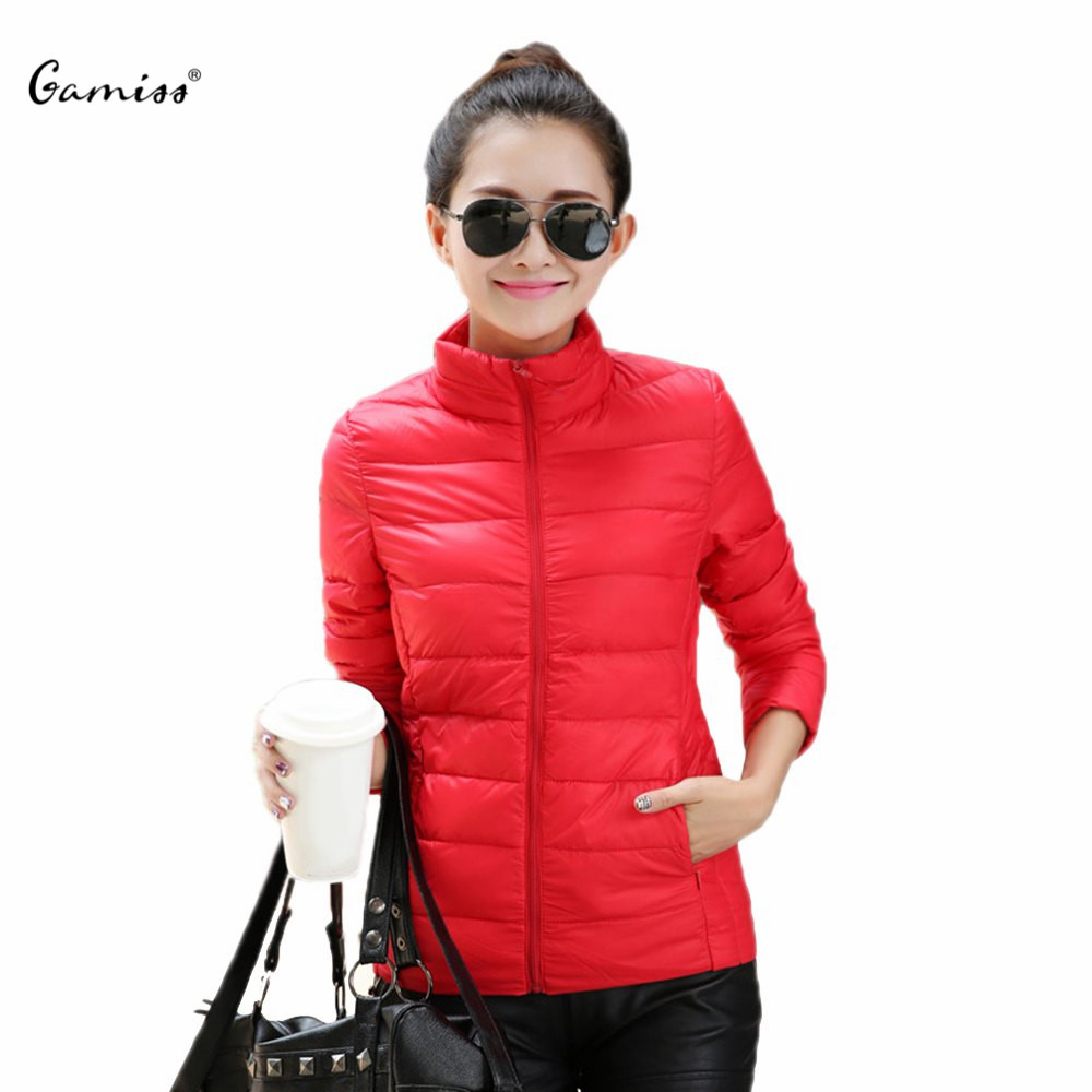 Winter Down Jacket Coat for Women Simple Fashion Hooded Long Sleeves Solid Zippered Short Cotton Candy Color 1487345Одежда и ак�е��уары<br><br><br>Aliexpress