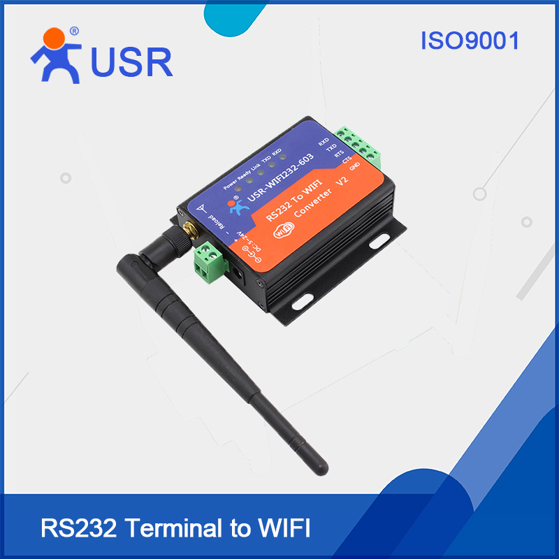 Q111 USR-WIFI232-603-V2 Wifi Serial Server Module Terminal RS232 to Wifi Wireless Converter with Built-in Webpage(China)