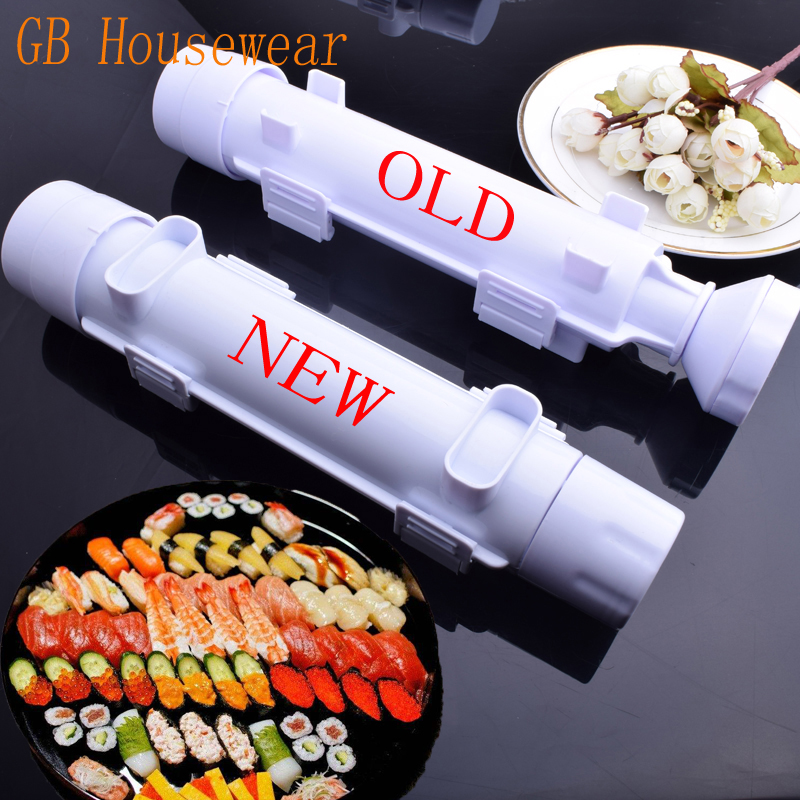 New Perfect Magic Roll DIY Sushi Maker Kit Sushi Rolls Sushi Mold Making Tool Rice Mould Roller Cooking Tool Kitchen Gadgets
