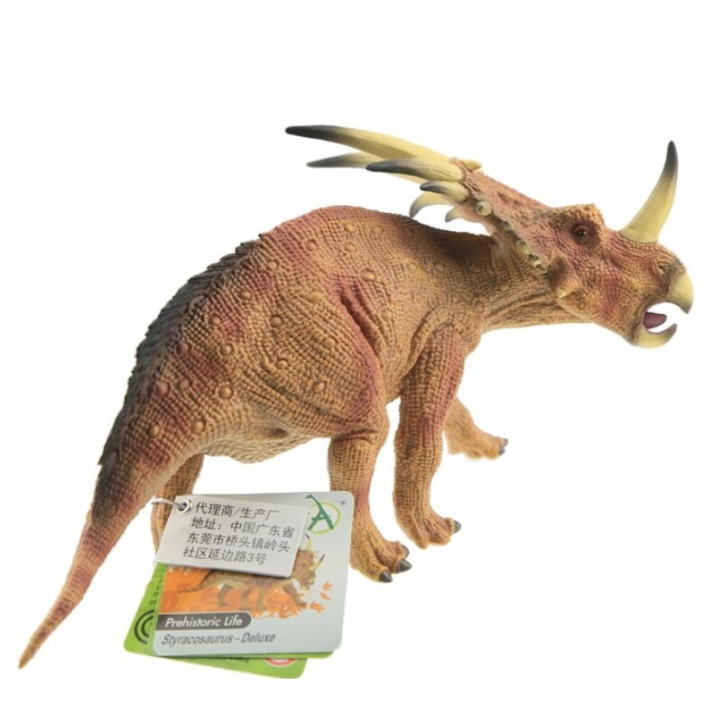 CollectA Styracosaurus - Deluxe Edition Dinosaurs Toy Classic Toys For Boys Children Birthday Gift Animal Model 88777<br>