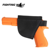 Outdoor Military Tactical Gun Holster Portable Waterproof Airsoft Pistol Handgun Holster Hunting Wargame CS Field Equipment