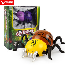 Hot New Wall Car Wireless Remote Control Electric Toy Car Non Deformed Children Creative Spider(China)