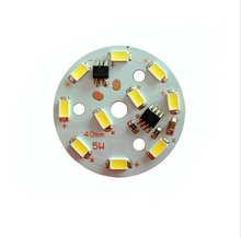 Bulb Light Source 5730 SMD 5W 220V Bead PCB board not need Drive(China)