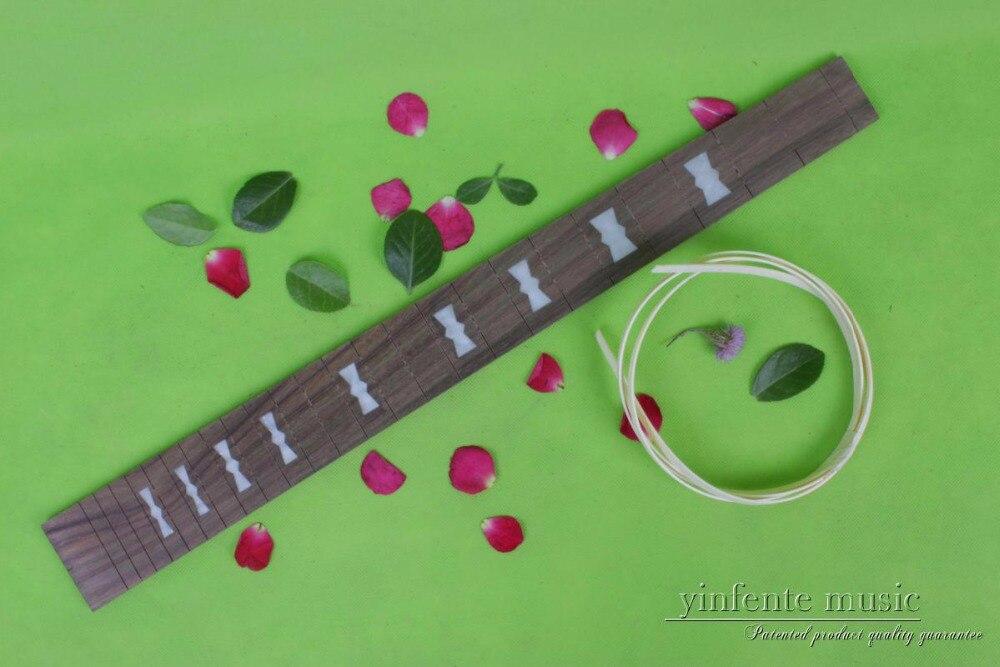 Guitar Accessories 1  pcs   x  25.5electric   Guitar Fretboard electric guitar rose  Wood Fretboard Parts 00-040# inlay<br>