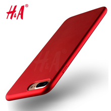 Luxury TPU Soft Cover for iPhone 6 6S Plus Case Red Plating Mobile Phone TPU Soft Case For iphone 7 7 plus Cover Red phone(China)