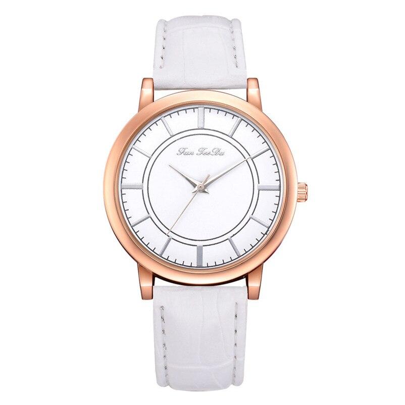 2018 High Quality women fashion casual watch luxury dress ladies  Analog Quartz Leather bands Wrist Watch clock Relogio Y11 (10)