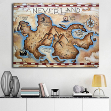 Buy Map Neverland And Get Free Shipping On Aliexpress Com