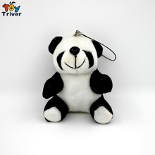 Wholesale 100pcs Kawaii Plush China Panda Pendant Toys Doll Stuffed Animal Wedding Party Birthday Christmas Gift Accessory