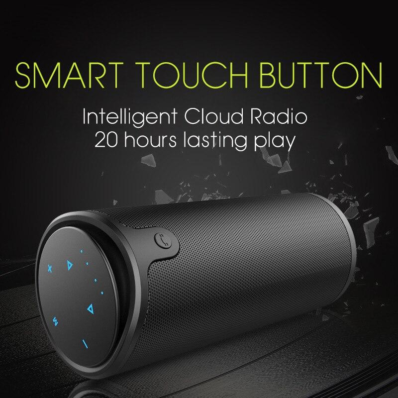 ZAPET 3D HIFI waterproof Speaker Wireless Bluetooth Portable Stereo Loudspeaker Call TF Riding camping climbing