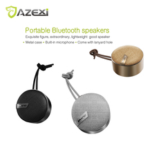 Azexi B010 Fashion Protable Aluminum Mini Bluetooth Speaker 3D stereo loudspeaker Super music audio player for Android iOS phone(China)
