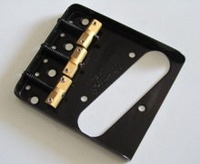 Wilkinson Black WTB Ashtray Vintage Style Compensated TL Guitar Bridge(China)