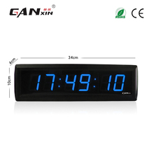 [Ganxin]Blue Color 1.8'' Led Digital Timer Clocks Led Wall Clock with Low Price