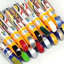 New 1Pcs Universal Car Pro Mending Car Remover Scratch Repair Paint Pen Clear 61 Colors Choices(China)