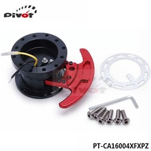 Tansky RACING STEERING WHEEL QUICK RELEASE HUB KIT ADAPTER BLACK BODY RING TK-CA16004XFXPZ(China)