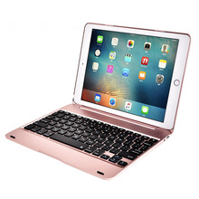 Luxury Bluetooth Keyboard Case For apple iPad pro 9.7, Wireless Keyboard For ipad air 2 ipad 6 with ABS plastic Body