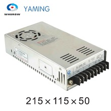 Yaming elecreic S-400-12 Single output 12v 33.3a 400W AC/DC Computer Switch Power Supply for LED Strip light YMS-400-12(China)