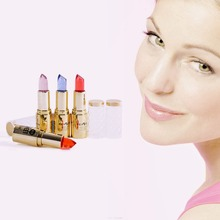 Color Changing Lip Gloss Balm Moisturizing Makeup Crystal Jelly Lipstick 4 Colours for Choice