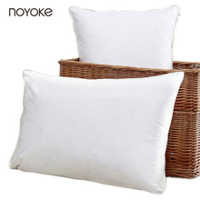 NOYOKE 1 Piece 48*74 cm Five Star Hotel Bedding Pillow Feather Silk Microfiber Soft Pillow Bed Bedding Pillow